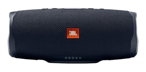 Imagen 1 de 6 de Bocina JBL Charge 4 portátil con bluetooth black 110V/220V