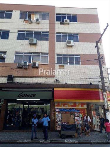 Sala Comercial   160m²  1 Vaga   Centro  são Vicente - 725-82