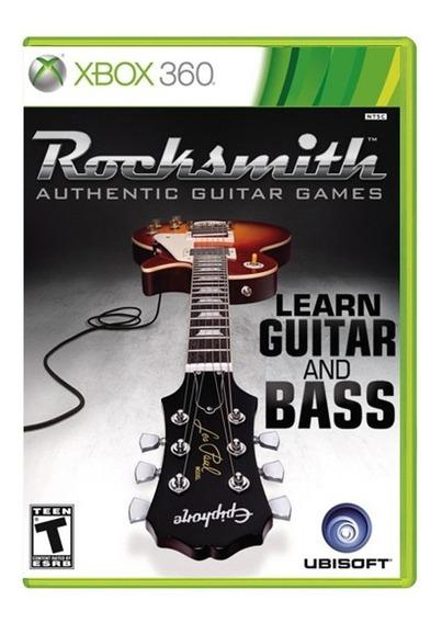 Rocksmith Guitar And Bass - Somente Jogo Pronta Entrega