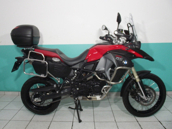 Bmw F 800 Gs Adventure Abs 2014 Vermelha