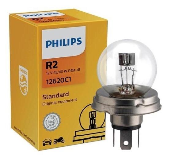 Lâmpada Philips Standart 40w 12v P45t-41 R2 Farol