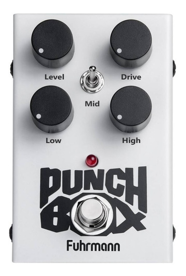 Pedal Fuhrmann Punch Box Ii Overdrive Distortion