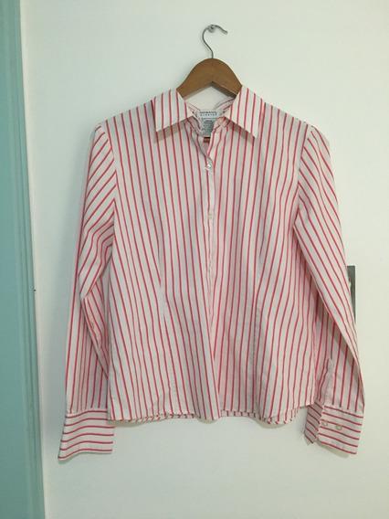 Camisa Rayada Vintage Retro Mujer