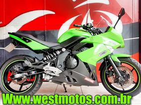 Kawasaki Ninja 650r 2011 Com 6779 Km Financiamos Sem Entrada