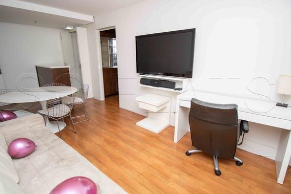 Para Morar Ou Investir Em Moema, Flat Com 02 Dormitórios, Próximo Ao Shopping E Avenida Ibirapuera - Sf28063