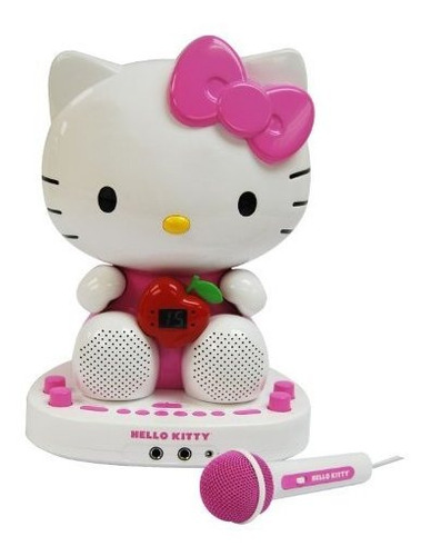 Hello Kitty Kt2007 F Cdg Sistema De Karaoke Con Integrado Co