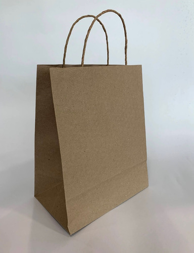 Bolsas De Papel Kraft X 25 Unds - Tamaño: 20x15x10 Cms