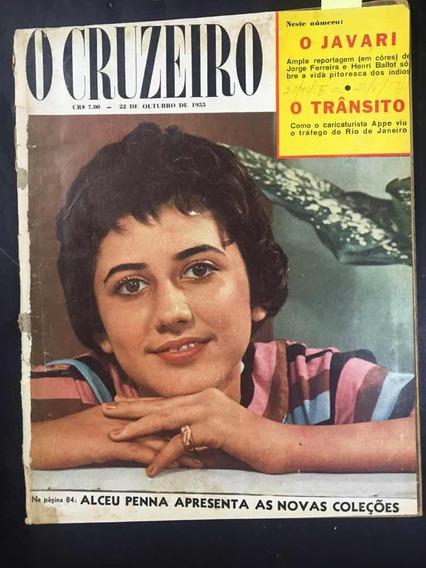O Cruzeiro N°01 Alceu Penna Novas Coleções - 22/10/1955