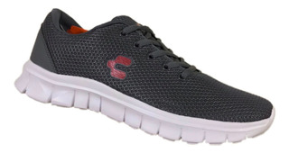 Tenis Charly Hombre 1029533 Gris Oxford Gris Deportivo Run
