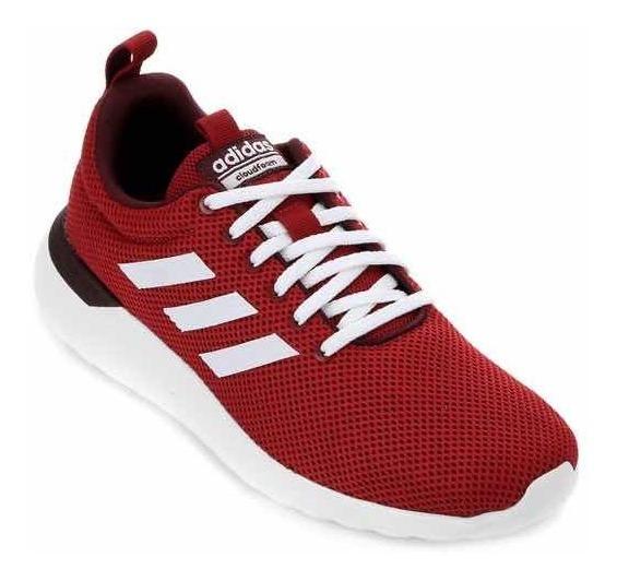 Tênis adidas Lite Racer Cln Masculino - Vermelho E Branco
