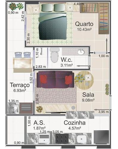 Imagem 1 de 13 de Apartamento - Venda - Flórida - Praia Grande - Pc7