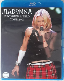 Bluray + Cd Madonna Drowned World Tour Legendado Frete Grati
