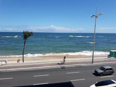 Flat 1 Quarto, Nascente, Vista Mar, 40,50m², 1 Vaga - Pituba. - Fl0018