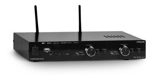 Amplificador Receiver Som Ambiente Frahm Rd240 Residence