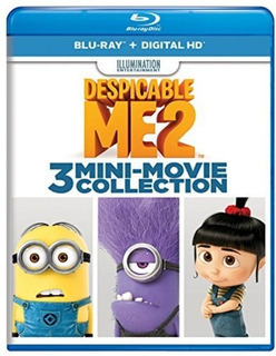 Despicable Me 2: 3 Mini-movie Collection Blu-ray Us Import