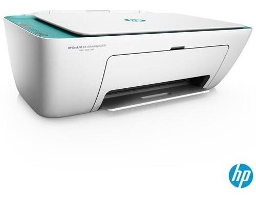 Impressora Hp Deskjet Ink Advantage Aio Jato Tinta 2676