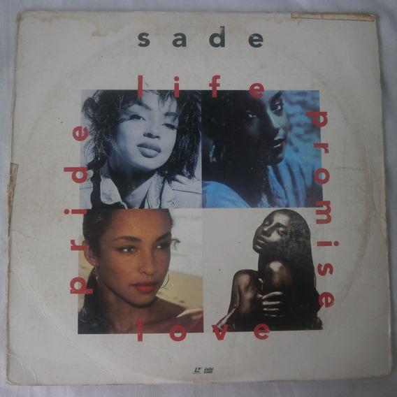 Ld Laser Disc Sade 1993 Life Promise Pride Love, Importado
