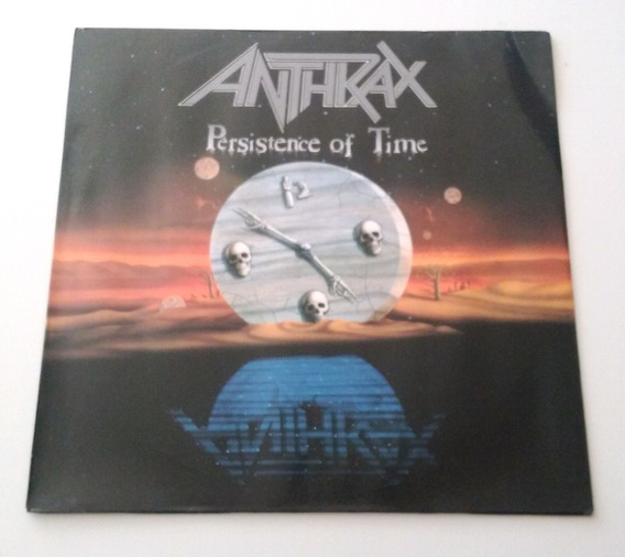 Anthrax - Persistence Of Time Original 1990