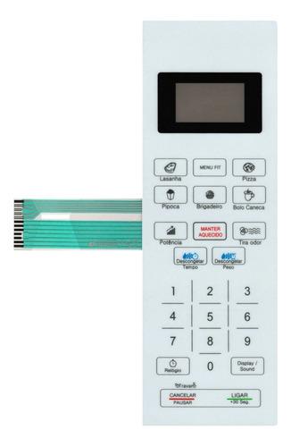 Imagem 1 de 3 de Membrana Teclado Microondas Philco Pmo26b / Bc Branco