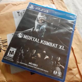 Ps4 Mortal Kombat Xl Nuevo Selllado