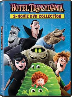 Dvd : Hotel Transylvania 1 / Hotel Transylvania 2 & 3 (3...