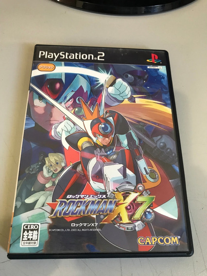 Lote Playstation 2 Original: Rockman / Megaman , Etc- V369