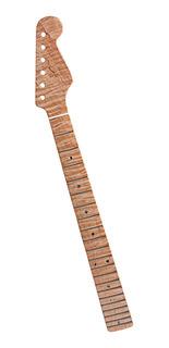 1 Pc Mástil De Madera Arce De Guitarra Repuesto Diapasón