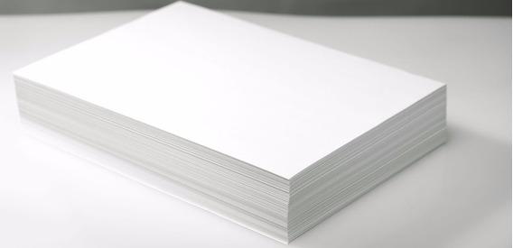 500 Folhas Papel Offset 180g Branco - Formato A4