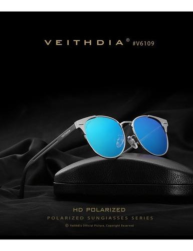 Lentes De Sol Moderno Polarizado Proteccion U V Hd Vision