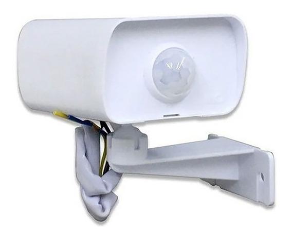 Sensor De Presença Iluminação Externo Branco Bivolt Mpx-40f