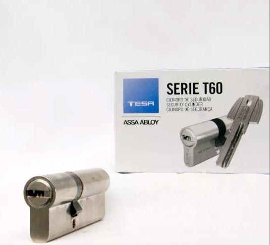 Cilindro De Seguridad Multipunto Tesa 60mm Niq | Abelenda Hn