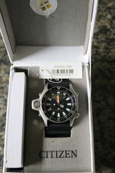Relógio Citizen Aqualand Jp2000-08e Preto