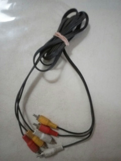 Cable 3 Era Av Audio Dvd / Decodificador