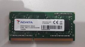 Memoria Adata P/notebook 4gb 1x4gb Ddr3 1600mhz Sodimm - Aed