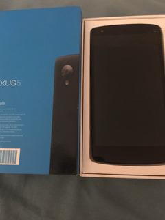 Smartphone Android Nexus 5 Para Peças Trincado Caixa Manual