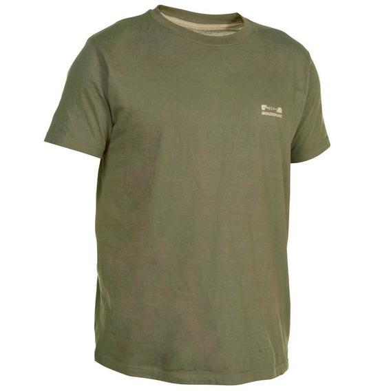 Camiseta Playera Caza Pesca Manga Corta Steppe Sg Sl 100