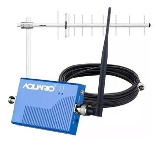 Kit Amplificador Repetidor Celular 3g 850 Rp860 Vivo Aquário