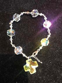 e4623d2c27a7 Pulsera Plata 925 Cristales Brillantes Swarovski Original - Joyas y ...