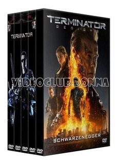 Terminator Saga Completa Pack 5 Peliculas Coleccion Dvd