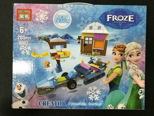Niña Frozen Elsa Juguete Pieza Lego Muñeca Anna 205 UzVpMqS