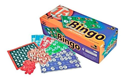 Bingo Bisonte 96 Cartones Lujo Familiar 8741 E. Full