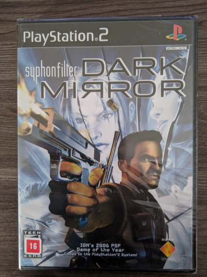 Syphon Filter Dark Mirror - Ps2 Novo Lacrado