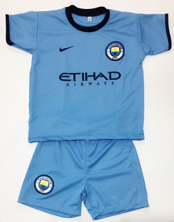 Conjunto Infantil Manchester City Frete Gratis!!