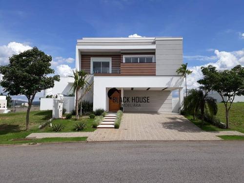 Sobrado Com 4 Dormitórios À Venda, 395 M² Por R$ 2.200.000,00 - Alphaville Nova Esplanada - Votorantim/sp - So0757