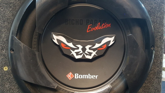 Subwoofer 12 Bomber Bicho Papao Doble Bobina Con Caja