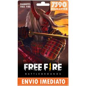 Free Fire 6.900 Diamantes +690 Bônus (7590) Recarga P/ Conta