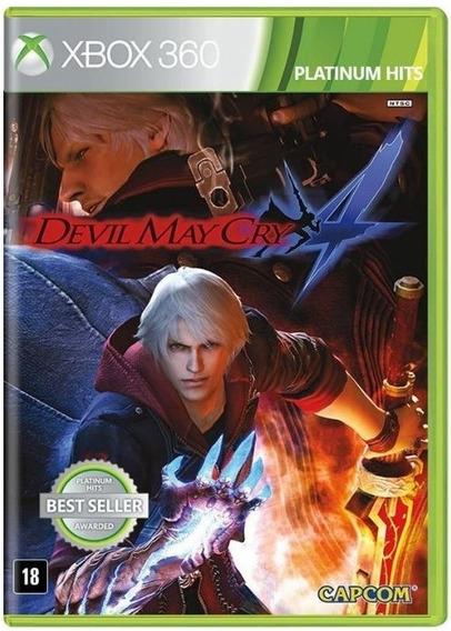 Devil May Cry 4 - Jogo Para Xbox 360 Original - Midia Fisica