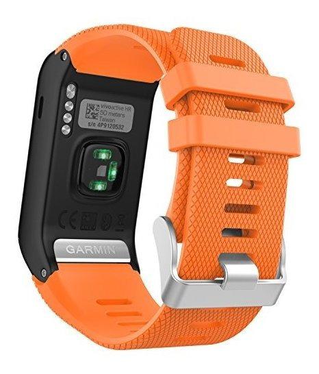 Garmin Vivoactive Hr Watch Band Moko Soft Silicone Replaceme