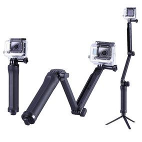 Suporte Ajustável Tripe 3 Formas Cameras E Smartphone