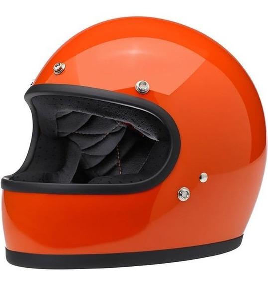 Capacete Gringo S Hazzard Orange Biltwell